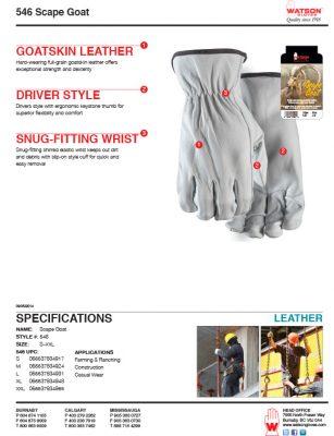 546 Scape Goat | Watson Gloves