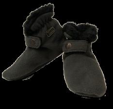 1522 Baby Fleece Navidad Slippers