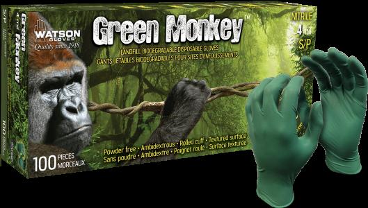 5559PF Green Monkey Glove & Box