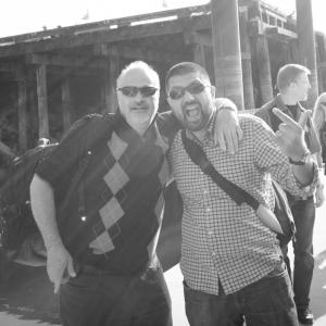 Ali Zuberi & Bill Sampson AGM Boat Cruise 2014 Crop