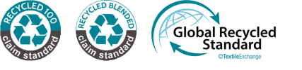 Recycled Claim Standard & Global Recycled Standard Logo Textile Exchange